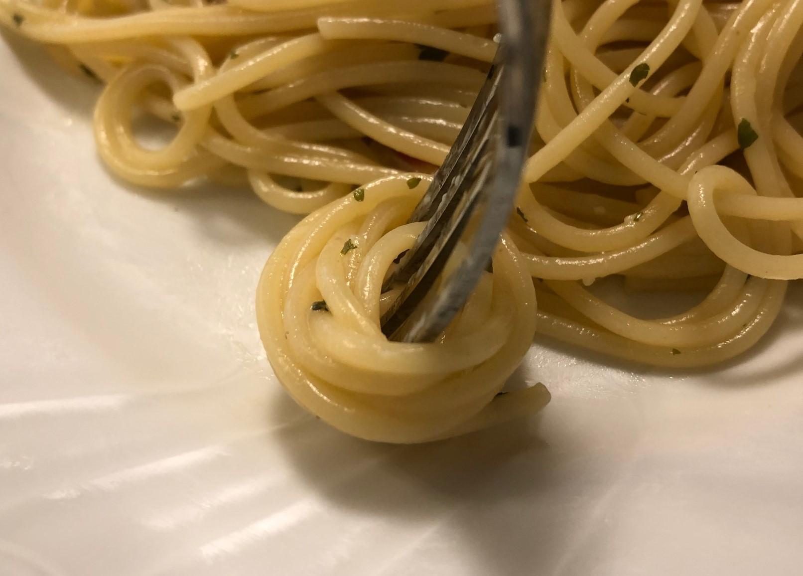 パスタの食べ方