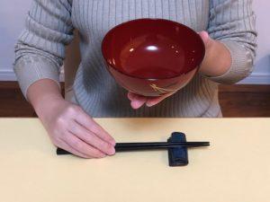 和食お椀と箸