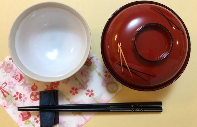和食箸お椀マナー